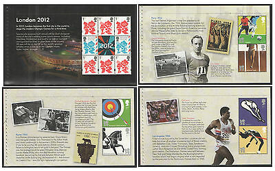 Individual Panes from DY5 / DB5(57) 2012 London Olympics Prestige Booklet