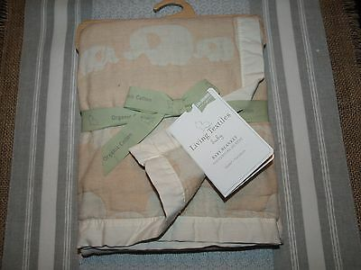 Living Textiles Crib Essentials Fitted Sheet Bed Skirt Baby Blanket Neutral