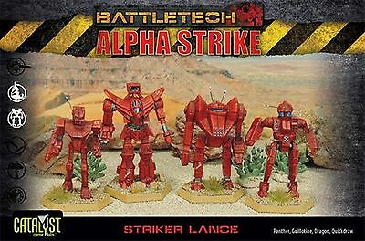 BattleTech Striker Lance Pack (4 Modelle) | EN