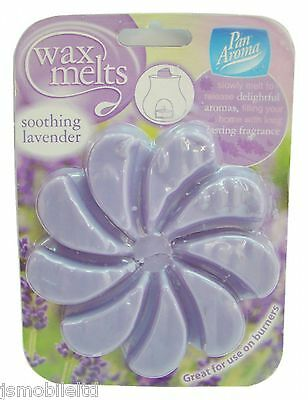New Compatible 9 Soothing Lavender Wax Melts -Glade-Yankee Candle & Airwick
