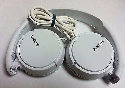 Sony Genuine MDR-ZX110 Stereo On Ear Swivel Headphone WHITE MDRZX110