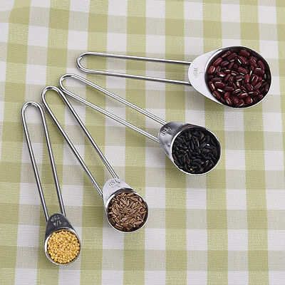 Durable Measuring Spoons Spice Cup Sugar Salt Bakery Cooking Kitchen Helper Tool