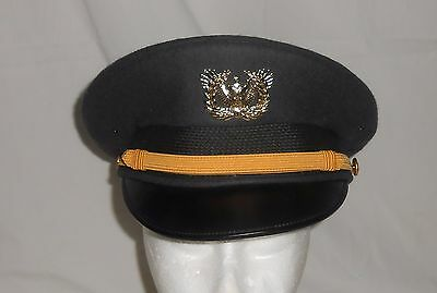 Kingform Cap De Luxe New York Military / Officer Hat Sz. 6 7/8