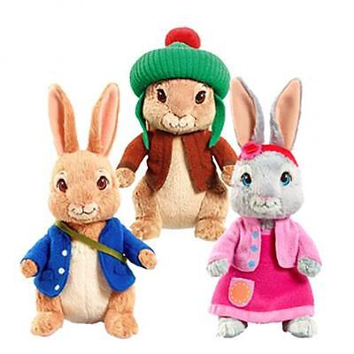 Peter Rabbit Soft Plush Stuffed Baby Doll Toy Lily Benjamin Beatrix Potter Safe