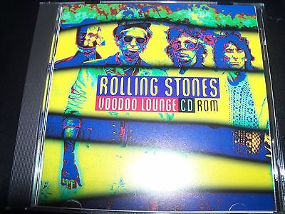 The Rolling Stones Voodoo Lounge CD Rom - Like New