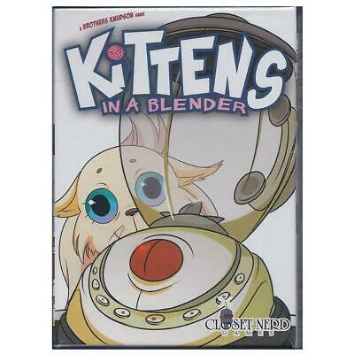 Kittens in a Blender Deck Game Card Game