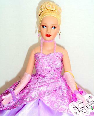 """Evening Gala Tiny Kitty Tonner 10"""" Fashion Doll Lilac Gown Box Stand"""