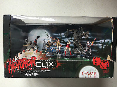 Wizkids Rare Horrorclix Horror Clix Starter Game *Boxed* -- Fast Post