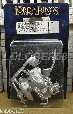 WITCH KING MINAS TIRITH MOUNTED - Lord of the rings Metal Figure