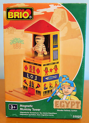 Brio Magnetic Mummy Tower - Wooden Railway System