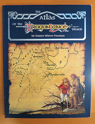 Dragonlance Atlas - Dungeons & Dragons
