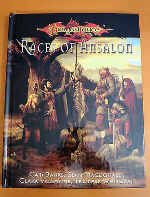 Dragonlance Races of Ansalon - Dungeons & Dragons 3.5