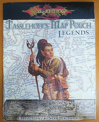 Tasselhoff's Map Pouch Legends NEW SEALED - D&D 3.5 - Dragonlance