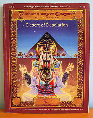 Desert of Desolation + Map Booklet + Fold-Out Map