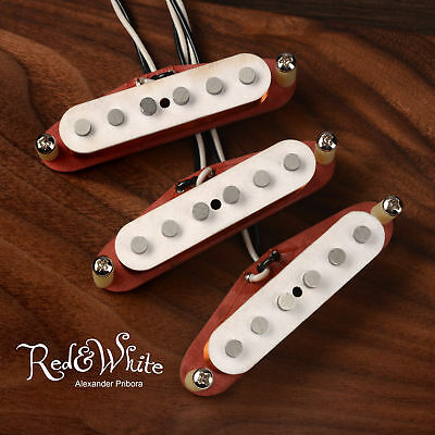 Strat Pickups set fit Fender Stratocaster Fullerton R&W style Scatter wound