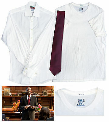 Chris Rock Screen Worn Hero Wardrobe From ''Funeral''