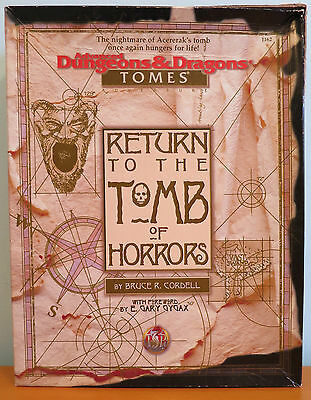 Return to the Tomb of Horrors Box Set - Complete - Advanced Dungeons & Dragons