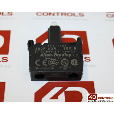 Allen Bradley 800F-N3R 800F Power Module, Integrated LED - New Surplus Open -...