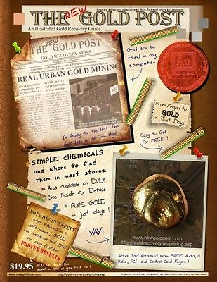 Professional gold recovery guide get GOLD from computers - The Printed version