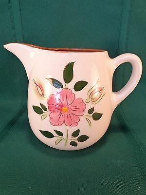 Vintage Stangl Wild Rose 1 Pint Pitcher EXCELLENT CONDITION!
