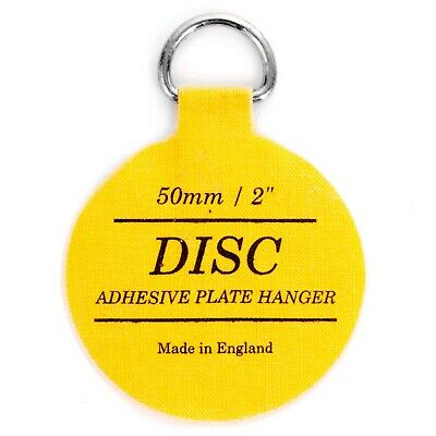 "INVISIBLE 2""/50mm DISC HANGER Self Adhesive/Sticker Plate/Picture Hanging Hook"