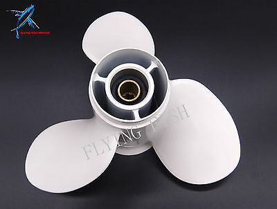 Outboard Aluminum Alloy Propeller 9 1/4x10-J for Yamaha 9.9HP 15HP 9 1/4 x 10 J
