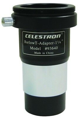 "Celestron Universal 32mm (1.25"") T-Adapter with Barlow Lens"