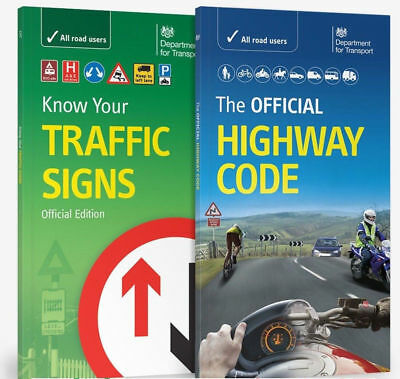 The official Highway Code, Know Your Traffic Signs Test  2017 Book  hw+Trafic