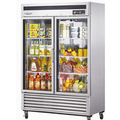 Turbo Air MSR-49G-2 2 Door Merchandiser Refrigerator