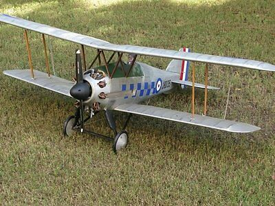 "1/6 scale Gloster Gamecock 60"" WS scratch build R/c Plane Plans & Patterns"