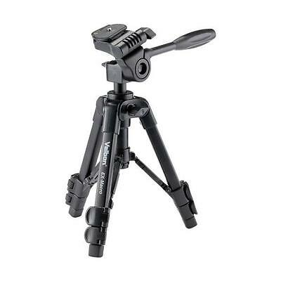 Velbon Ex-Macro Tripod Table Top Low Level Tripod 3-Way Head