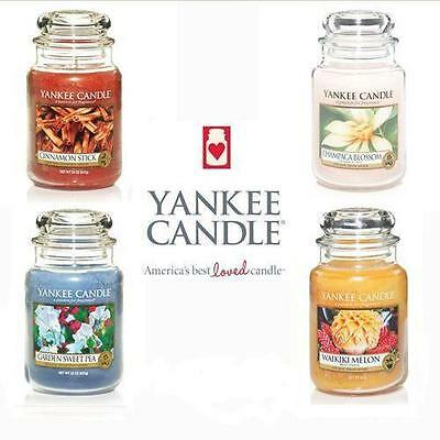 Yankee Candle 22oz Large Jar 46% Off - FREE P&P