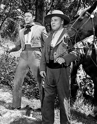 8x10 Print Guy Williams Zorro 1950 #2016244
