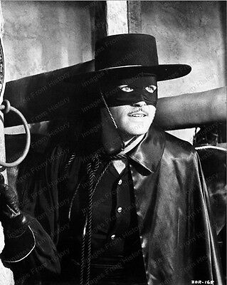 8x10 Print Guy Williams Zorro 1950 #2016245