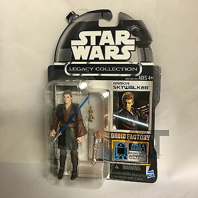 Star Wars Legacy Collection Droid Factory Cancelled Anakin Skywalker MOC