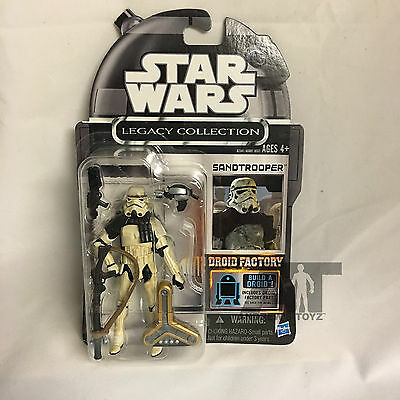 Star Wars Legacy Collection Droid Factory Cancelled Sandtrooper MOC
