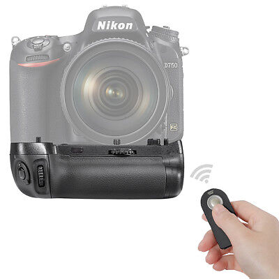 Infrared Remote Control Vertical Battery Grip for Nikon D750