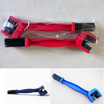 Cycling Bike Motorcycle Chain Wheel Cleaning Cleaner Scrubber Brush Tool Kit