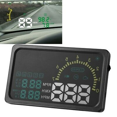 TECNICO 6 Inch Car HUD Head Up Display Vehicle-mounted Security System with OBD