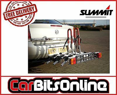 Car & 4x4 Tow Ball 3 Bike Bicycle Travel Rack Cycle Carrier