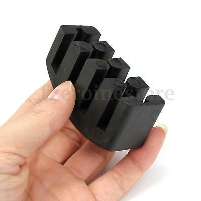 5-Prong Cello Mute Rubber Quiet Violin Silencer Practice For 4/4 Parts Accessory