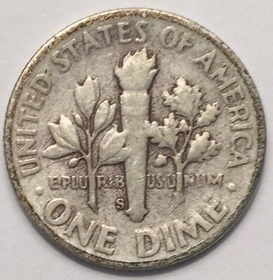 1949-S U.S.A One Dime, Roosevelt coin