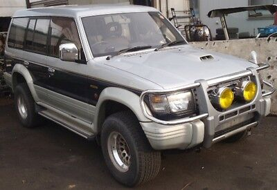 Mitsubishi Pajero Exceed Leather V46Wg Diesel X1 Unit Half Cut And Parts