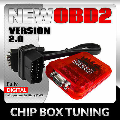 OBD2 Power Box Holden Commodore VE 3.6i V6 286HP Petrol Chip Performace ver.2