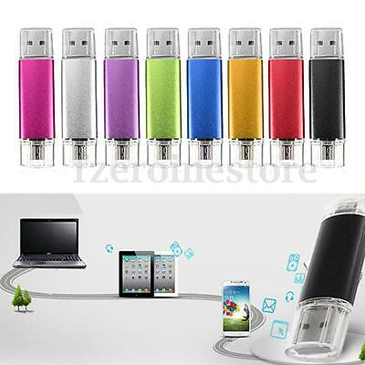 2/4/8/16/32Gb Pendrive Otg Memoria Usb 2.0 Pen Drive  Para Móvil Tablet Pc