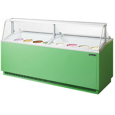 Turbo Air TIDC-91G Ice Cream Dipping Cabinet Green