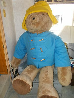 "RARE Paddington Bear Life Size 6 Ft or 72"" Tall   Commercial Retail Display Size"