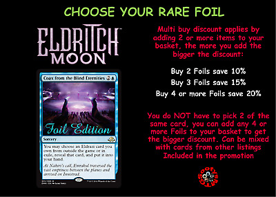 MTG Eldritch Moon EMN Choose your Rare Foil - M/NM Free Buy 2 or more save 10%