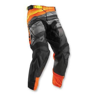 Thor 2017 Herren Motocross / MTB Hose - PULSE VELOW - schwarz-orange-grau