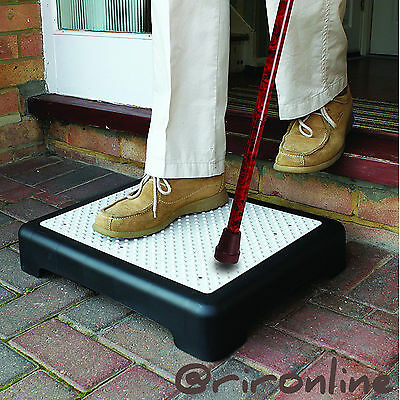 New Anti Slip Half Step, Outdoor Durable Rubber Mat Elderly Mobility Disability